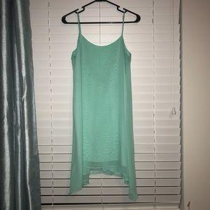 BCBG low cut back dress